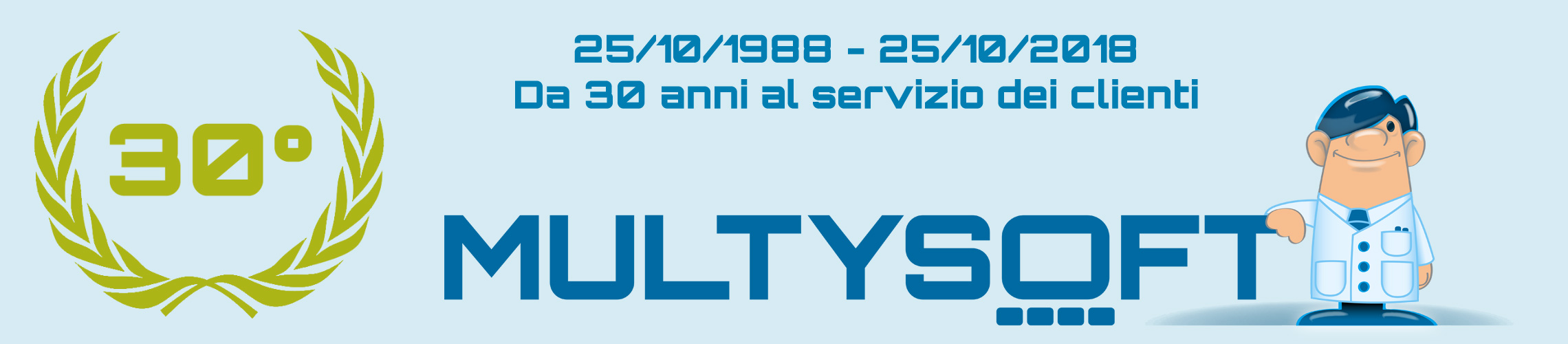 Multysoft Anniversario
